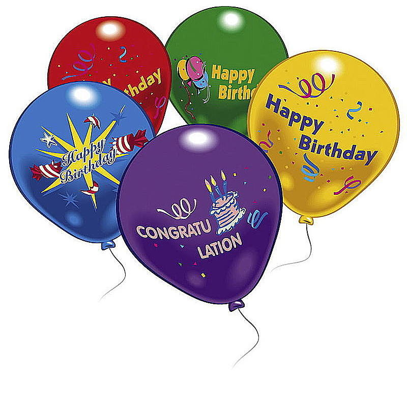 10 Happy Birthday Luftballons Ballons Party Deko Partydekorationen Geburtstag 17207